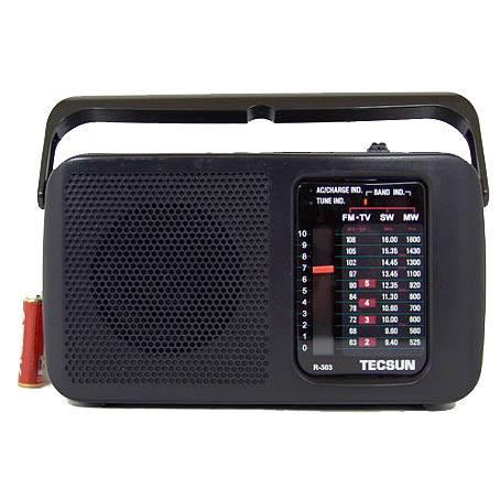 Радиоприемник TECSUN R-303 сетевой в интернет магазине Импульс, фото