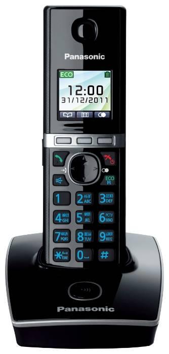 Радиотелефон PANASONIC KX-TG 8051 DECT АОН,спикерфон,полифония,подсветка кнопок