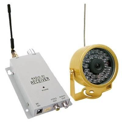 Минивидеокамера 802C LYD/250 (беспроводная.) в интернет магазине Импульс, фото