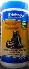 Влажные чистящие салфетки DEFENDER30300 для оргтехники в интернет магазине Импульс, фото