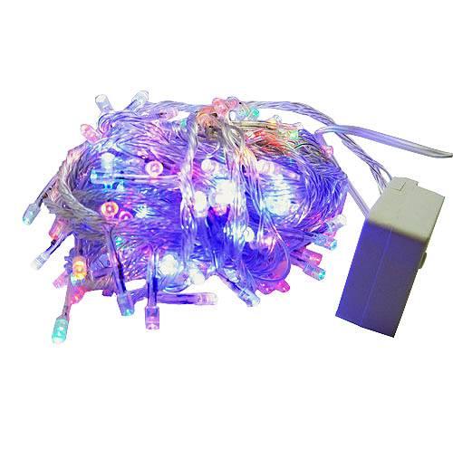 гирлянда 140 (70-140) светодиод (6мм)разноцветн. прозрачн. в интернет магазине Импульс, фото