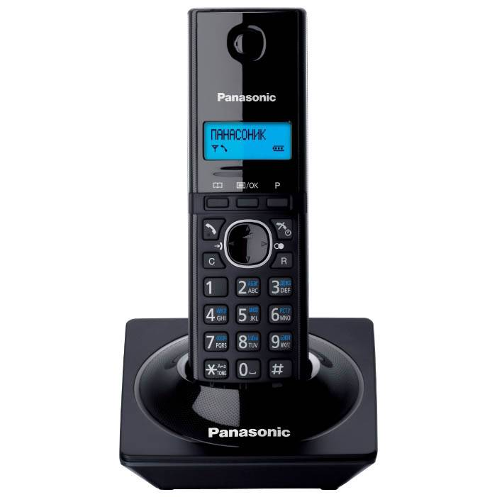 Радиотелефон PANASONIC KX-TG 1711 АОН/CID полифония в интернет магазине Импульс, фото