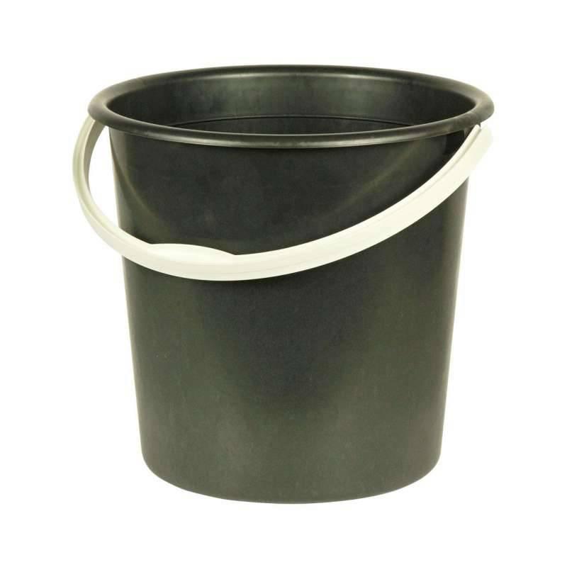 ведро 10л (2 сорт) черный М2057 в интернет магазине Импульс, фото