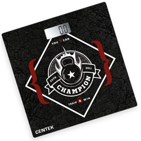 весы CENTEK CT-2416 Champion электронные напольные, до 180кг, LCD 65х28мм, в интернет магазине Импульс, фото
