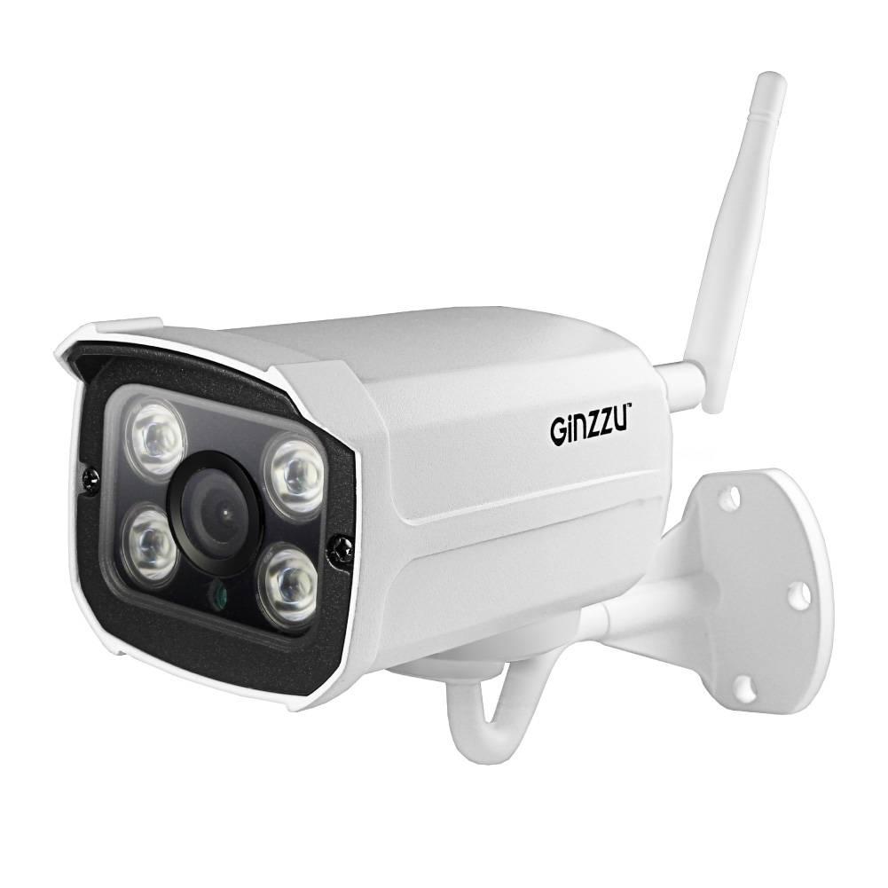 видеокамера GINZZU HWB-2032A WiFi2.0Mp SC2145,3.6mm,IR 40м,IP66,мет в интернет магазине Импульс, фото