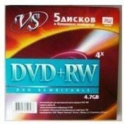 bulk DVD+RW VS-4.7Г конверт в интернет магазине Импульс, фото