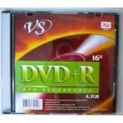 DVD+R VS-8.5Г двухслойный (printable)