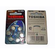 Аккумулятор R675 TOSHIBA NiMH(AG13) для слуховых аппаратов