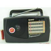 Радиоприемник KB-308 сетевой 4 диапазона в интернет магазине Импульс, фото