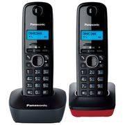 Радиотелефон PANASONIC KX-TG 1612 с дополн труб АОН/CID 12 мелодий в интернет магазине Импульс, фото