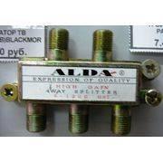 Разветвитель антенный 4TB ALDA метал(с F- разъемами) в интернет магазине Импульс, фото