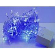 гирлянда 140 (70-140) светодиод (6мм) голуб. прозрачн. в интернет магазине Импульс, фото