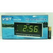 Часы-будильник JMT(VST)-773-5 сет. цифр.син цифр в интернет магазине Импульс, фото
