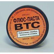 флюс-паста ВТС(пайка серебра золота меди и их сплав.)20г 110060 в интернет магазине Импульс, фото