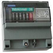счетчик электроэнергии Меркурий 201.06 10-80А 220В 1тар. ОУ DIN-рейка в интернет магазине Импульс, фото