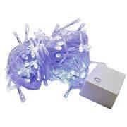 гирлянда 200 (100-200) светодиод (6мм) разноцветные прозрачные в интернет магазине Импульс, фото