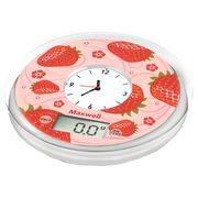 Весы кухонные MAXWELL 1452 до 5кг,электроные, 2ААА, встроенные часы, измерение объма в интернет магазине Импульс, фото