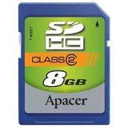 Память SD 8Gb APACER класс 2/4 в интернет магазине Импульс, фото