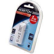адаптер питания авто 12в/USB ROBITON USB 2100 в интернет магазине Импульс, фото