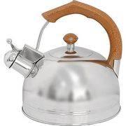 Чайник DJB-3293 3л нерж., со свистком, капсульное дно