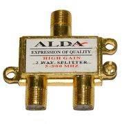 Разветвитель антенный 2TB ALDA метал (без F- разъемов) в интернет магазине Импульс, фото