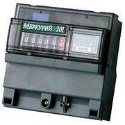 счетчик электроэнергии Меркурий 201.05 5(60)A 1ф1т в интернет магазине Импульс, фото