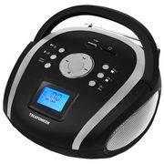 магнитола TELEFUNKEN TF-SRP 3449 FM-тюнер,часы,2 будильника,USB/SD,MP3