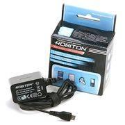 адаптер питания ROBITON TinyCharger/microUSB 220V->5V 1000mAh в интернет магазине Импульс, фото