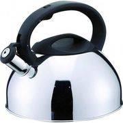 Чайник MAL-109 3л полированный, со свистком, капсулир. дно, цельнометалл. в интернет магазине Импульс, фото