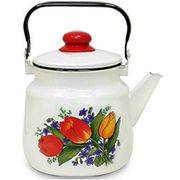 чайник 3,5л 01-2713/4 Магнитогорск с рисунком,эмаль 67658 в интернет магазине Импульс, фото
