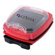 Гриль контактный CENTEK CT-1465 1100Вт, до 240*, 2в1(плитка+жаровня 239х235мм)антипригар. в интернет магазине Импульс, фото