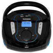 магнитола TELEFUNKEN TF-SRP 3471B flash, тюнер, FM, линейный вход, USB, SD/MMC, MP3, отделяемые колонки, дисплей, Bluetooth в интернет магазине Импульс, фото