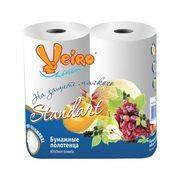 полотенца бумажные Linia Veiro 2-х сл 2шт в интернет магазине Импульс, фото