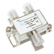 Разветвитель-ответвитель TAH 112F (1х12dB,5-862MHz,F-разъем) в интернет магазине Импульс, фото