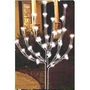 Светильник NightVision NV 108 32LED (дерево) бел.св.,солн.бат в интернет магазине Импульс, фото