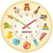 Часы CENTEK CT-7104 Toys(игрушки) d=25см настенные, плавн. ход, кварц