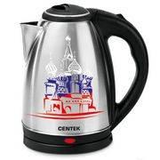 Чайник CENTEK CT-0050 (2,0л) 2000Вт металл, термо-рисунок в интернет магазине Импульс, фото