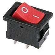 выключатель клавишный RWB-205/SC-768 ON-OF-ON 250V6A 3c с нейтр. mini REXANT 36-2145 в интернет магазине Импульс, фото