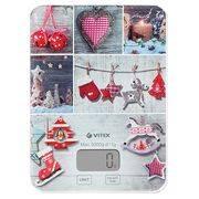 Весы VITEK-8019 кухонные электронные 5кг, стекло в интернет магазине Импульс, фото