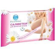 Салфетки влажные РУСАЛОЧКА для интимной гигиены 15 шт в интернет магазине Импульс, фото