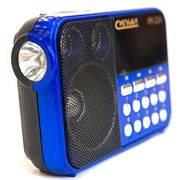 радиоприемник БЗРП РП / Сигнал РП-224 3*AA 220V,USB,SD акб 400мАч,дисплей, фонарик