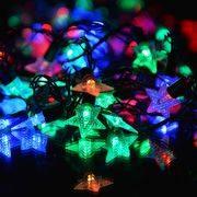 гирлянда 40(20)светодиодиодов Звездочки SE-STAR-540M 5м (2,5м)мультицвет в интернет магазине Импульс, фото