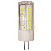 Лампочка LED 3Вт G4 12В 4000K 270Лм JC стандарт ASD