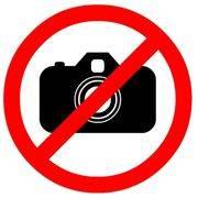 знак запрещающий Фотосьемка запрещена 150*150мм REXANT 56-0043 в интернет магазине Импульс, фото