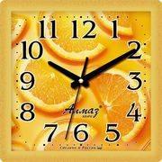Часы настенные мини квадрат картинка 466 в интернет магазине Импульс, фото
