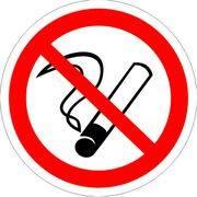 Знак информационный Курить запрещено 200*200мм REXANT 56-0035 в интернет магазине Импульс, фото