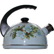 чайник 2,5л Т04/25/09/13 конс.ручка,серо-голубой орхидея в интернет магазине Импульс, фото