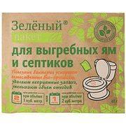септик Доктор Робик Зеленый пакет 40гр, для выгребных ям и септиков