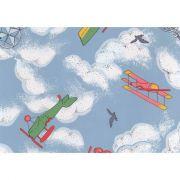 пленка самоклеющаяся 45см/8м самолеты 8038 в интернет магазине Импульс, фото