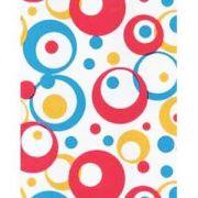пленка самоклеющаяся 45см/8м разноцветные круги 8270 в интернет магазине Импульс, фото